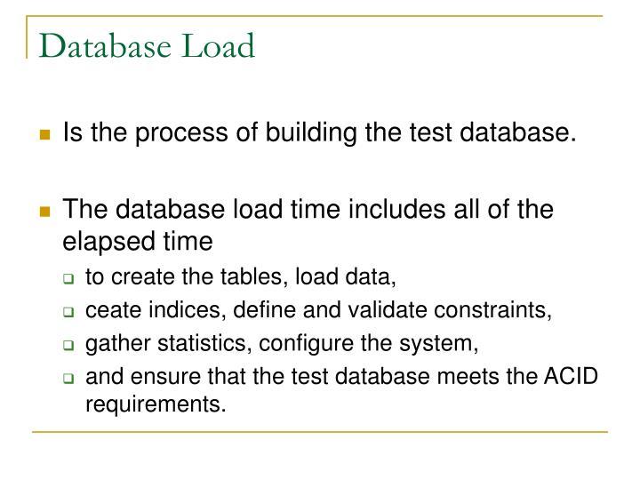 Database Load
