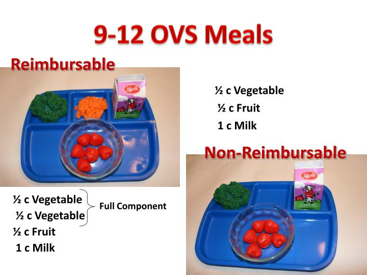 9-12 OVS Meals