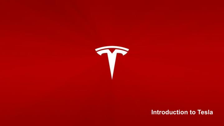 Introduction to Tesla