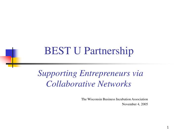 Best u partnership