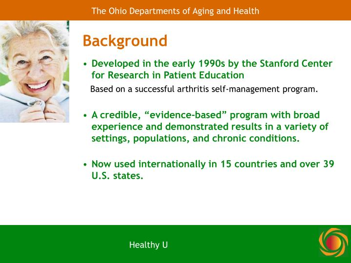 The Ohio Departments of Aging and Health