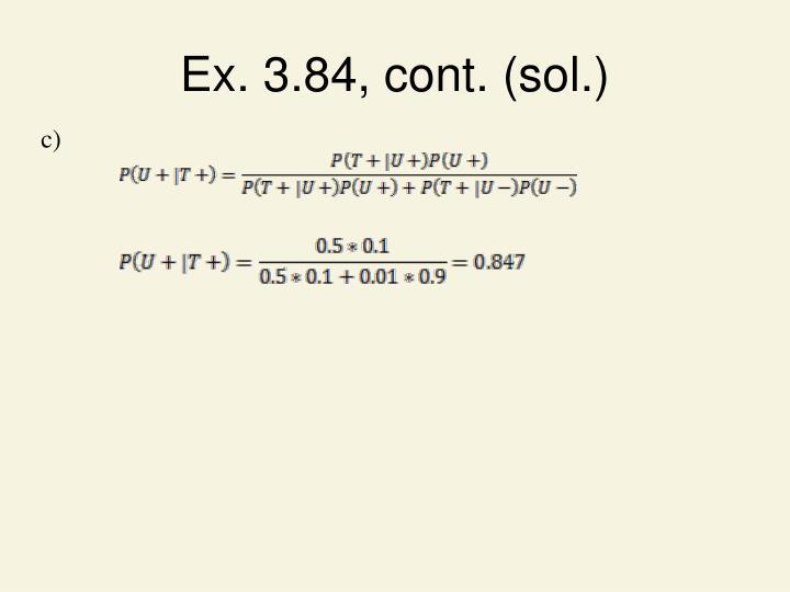 Ex. 3.84, cont. (sol.)