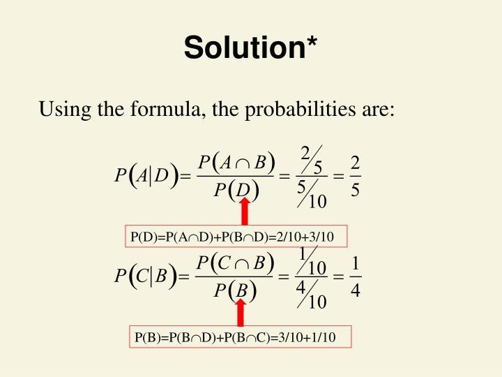 Solution*
