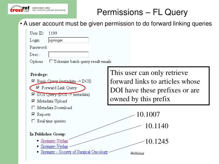 Permissions – FL Query