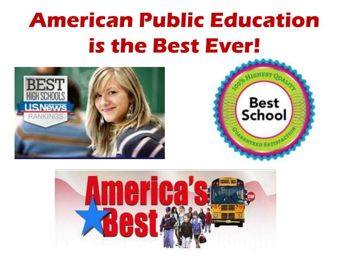 American Public Education is the Best Ever!