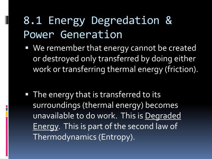 8.1 Energy