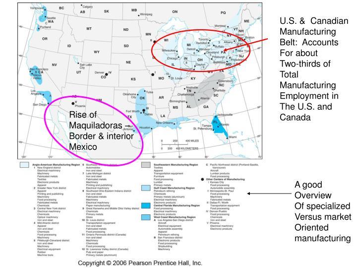 U.S. &  Canadian