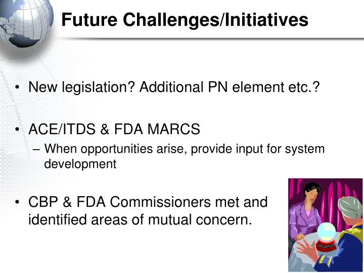 Future Challenges/Initiatives