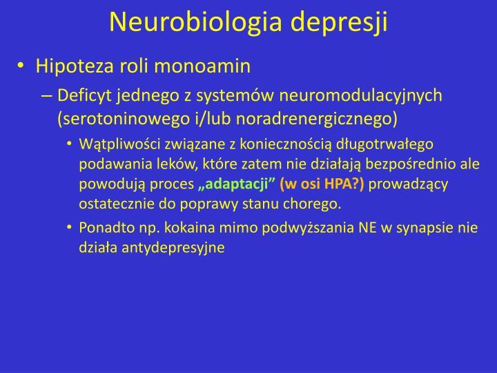 Neurobiologia depresji