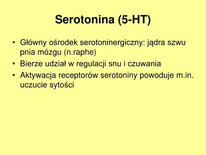 Serotonina (5-HT)