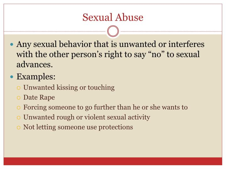 dating someone with a history of sexual abuse