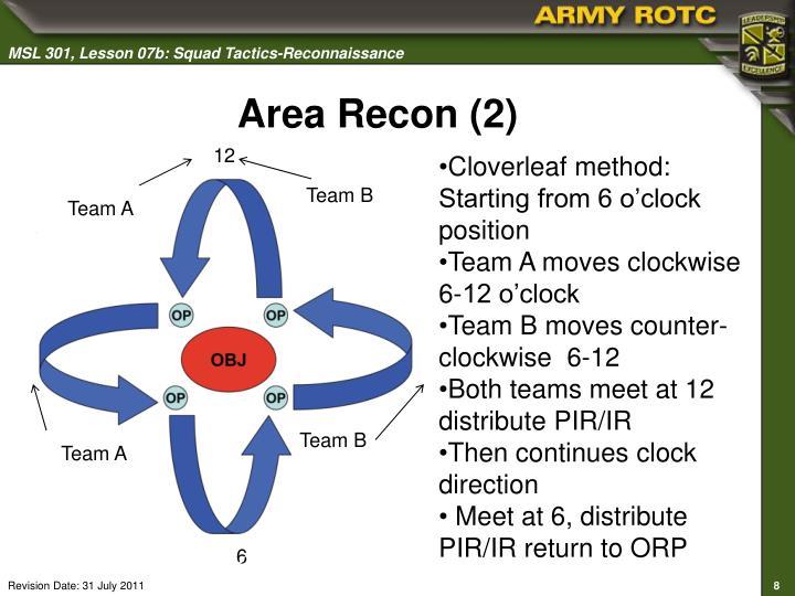 Area Recon (2)