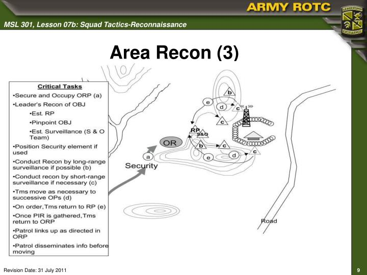 Area Recon (3)