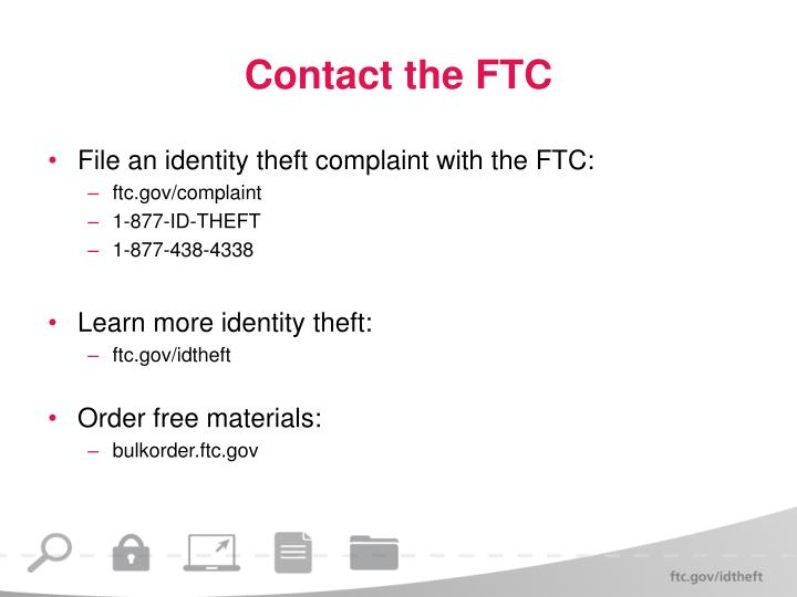 Contact the FTC