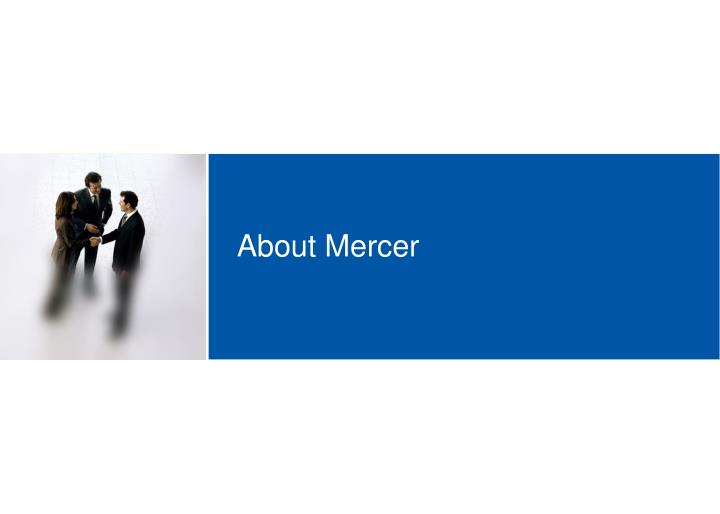 About Mercer