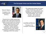the european union and the united states1