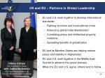us and eu partners in global leadership