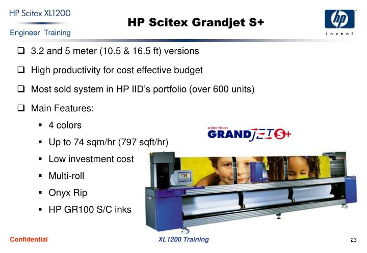 HP Scitex Grandjet S+