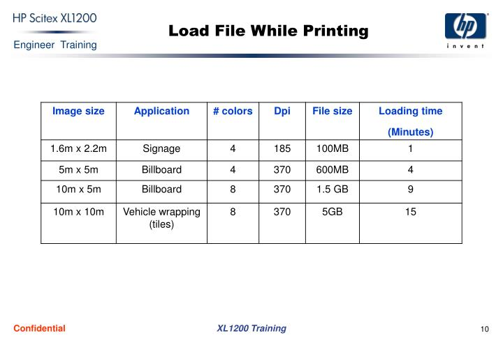 Load File While Printing