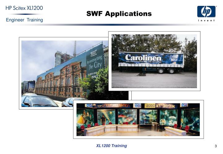 Swf applications