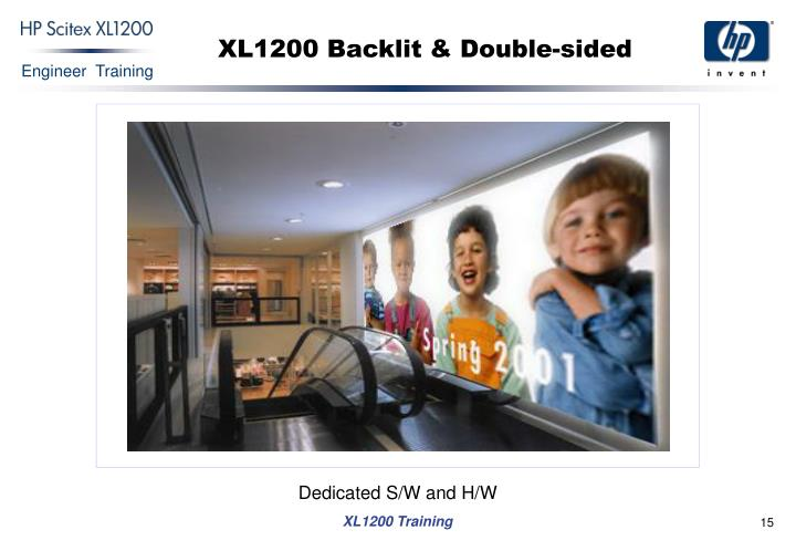 XL1200 Backlit & Double-sided