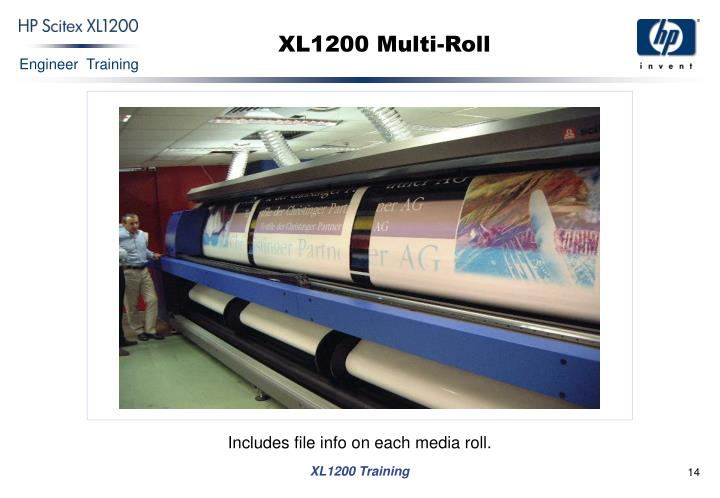XL1200 Multi-Roll