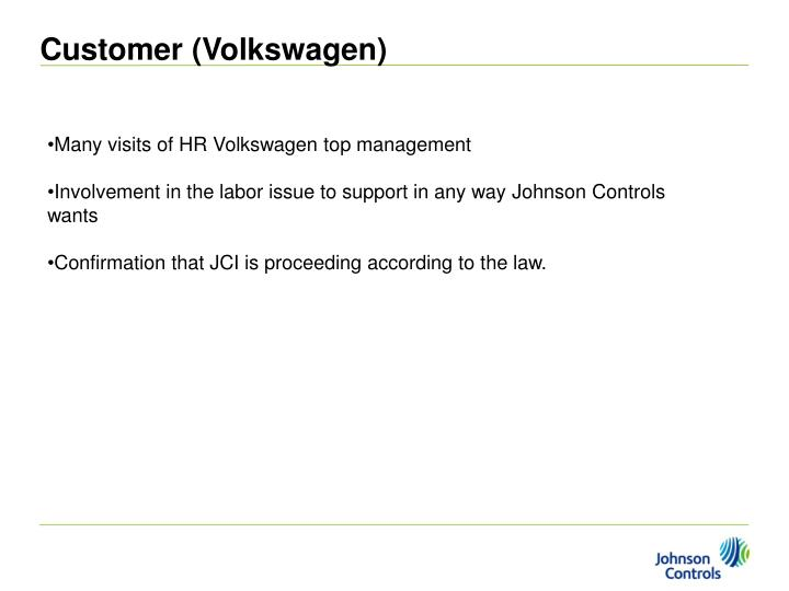 Customer (Volkswagen)
