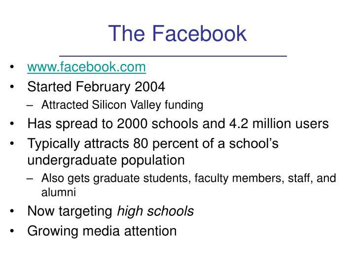 The Facebook