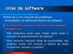 crise de software