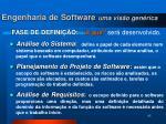 engenharia de software uma vis o gen rica1