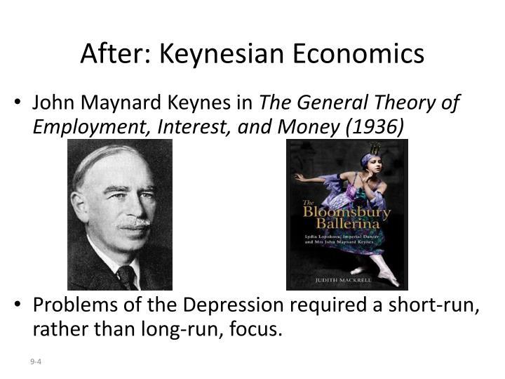 After: Keynesian Economics