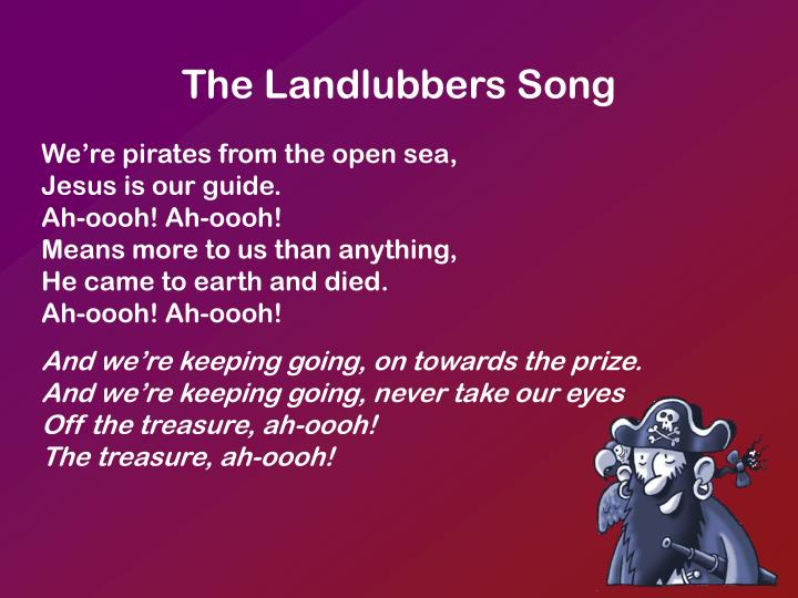 The Landlubbers Song