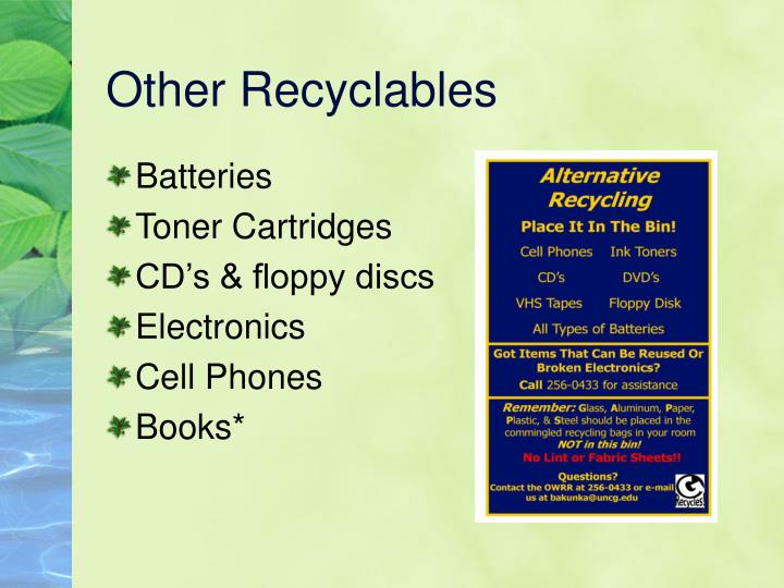Other Recyclables