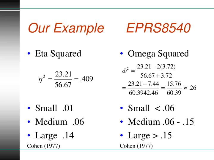 Our Example      EPRS8540