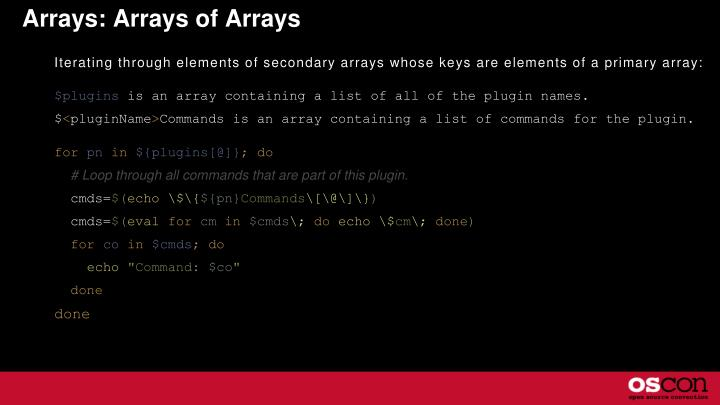 Arrays: Arrays of Arrays