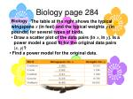 biology page 284
