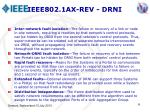 ieee802 1ax rev drni1