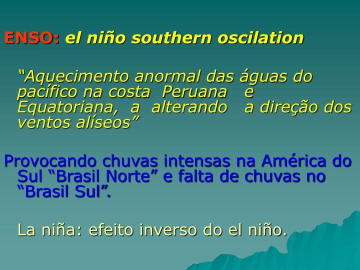 ENSO: