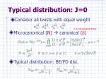 typical distribution j 0