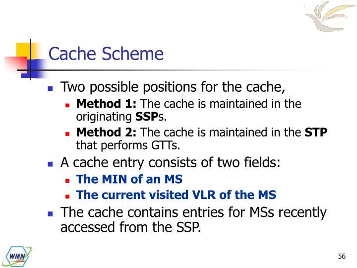 Cache Scheme