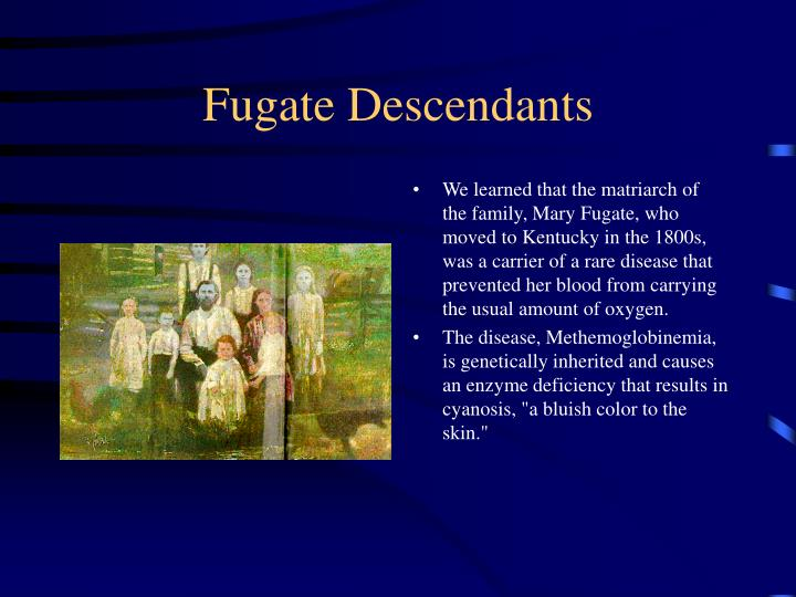 Fugate descendants