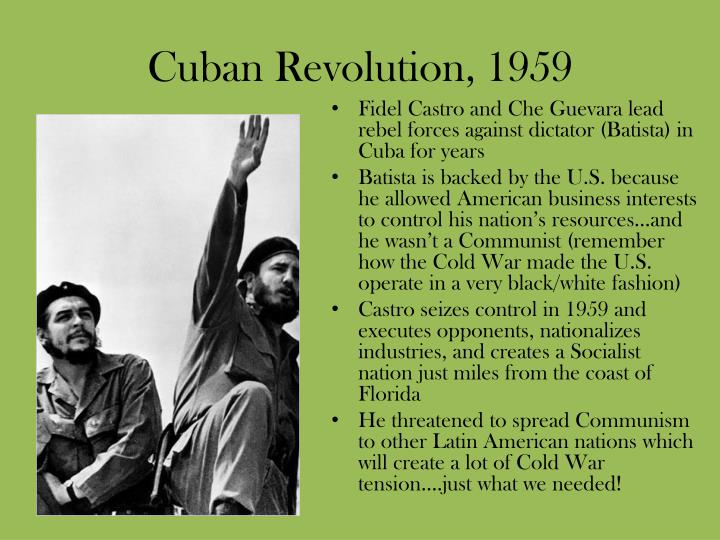 Cuban Revolution, 1959