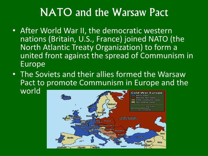 NATO and the Warsaw Pact