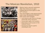 the mexican revolution 1910
