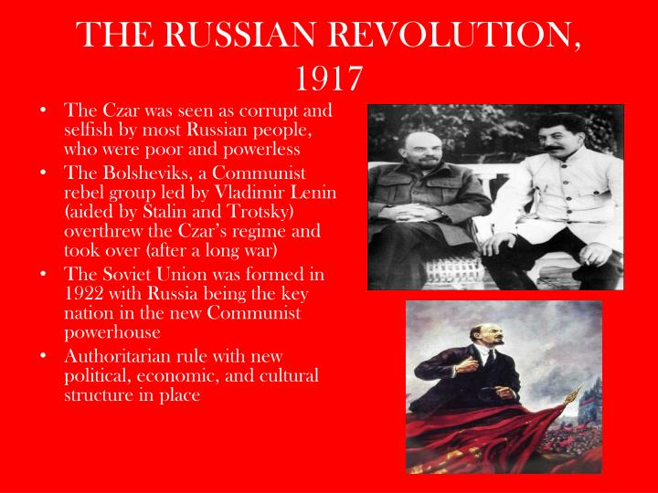 THE RUSSIAN REVOLUTION, 1917