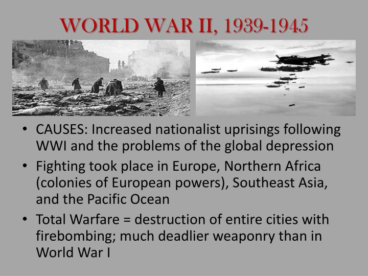 WORLD WAR II, 1939-1945