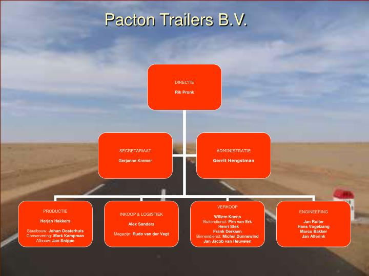 Pacton Trailers B.V.