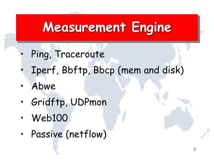 Measurement Engine