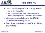 role of the ac