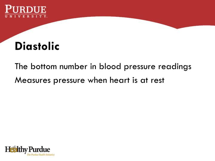 Diastolic